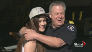 Okanagan teenager involved in horrific accident reunites with the people who saved her life