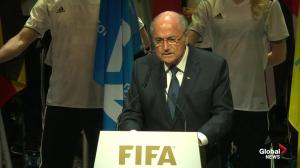 FIFA's Blatter says he's sure more bad news to come