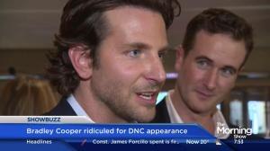 Bradley Cooper ridiculed for DNC appearance