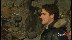 Justin Trudeau brings message to Canada's north