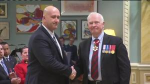 House of Commons security officer Louis Létourneau awarded Star of Courage for his actions during Ottawa shooting