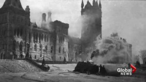 Marking 100 years since Parliament Hill fire