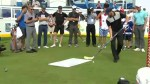 Philadelphia Flyers star Claude Giroux showcases skills at RBC Canadian Open