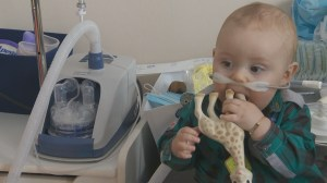 Quebec family seeks medical treatment in US to help baby with respiratory problems
