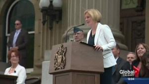Alberta Premier Rachel Notley to speak to municipal leaders in Calgary