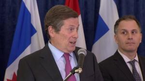 John Tory talks about decision of Toronto ombudsman not to seek reappointment