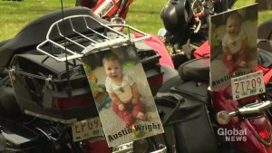 Bikers Against Child Abuse dedicate awareness ride to murdered boy