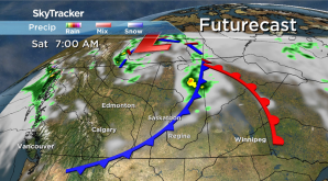Saskatoon weather outlook: cold front dunks daytime highs back down