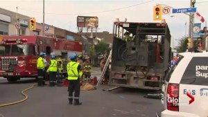 Construction worker severely burned by hot tar spill