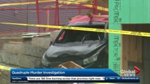 Calgary police investigate quadruple murder