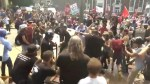 Protesters violently clash in Charlottesville