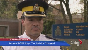 Former RCMP Inspector Tim Shields charged with sexual assault