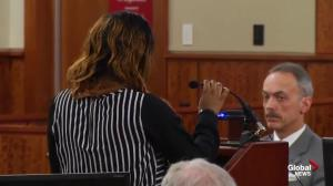 Odin Lloyd's sister addresses the court following guilty verdict for Aaron Hernandez
