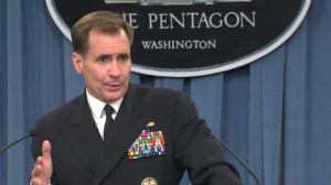 Pentagon spokesman comments on reported beheading of U.S. journalist