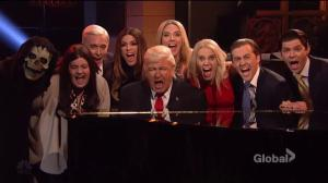 'I'm not giving up because I didn't do anything wrong': SNL's Trump sings 'Hallelujah'