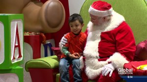 Sensitive Santa visits with autistic children