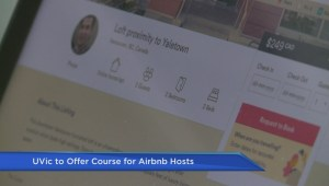 UVic offers course for Airbnb hosts managing short term rentals