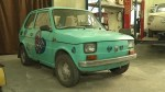 Polish community buy tiny Fiat 126P for Tom Hanks