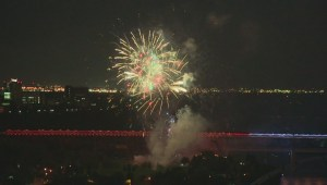 Canada Day 2016 fireworks in Edmonton