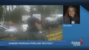 Jane Carrigan reports from Burnaby Mountain