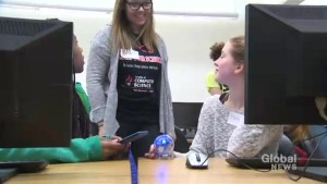 University of New Brunswick giving young girls the confidence to explore computer technology