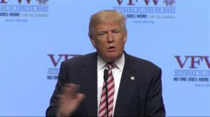 Donald Trump vows to 'fix' Veterans Affairs if elected President