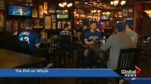 Edmontonians have Blue Jays fever