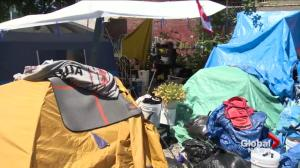 Vancouver tent city residents move to new site
