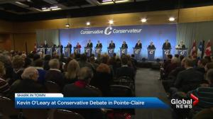 Bilingual Conservative leadership debate in Pointe-Claire