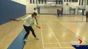 Pickleball's popularity picking up