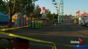 Man in critical condition after being stabbed at Stampede