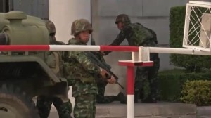 Thailand army chief announces military has seized power