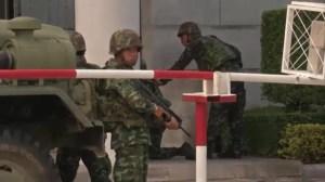 Thailand army chief announces military has seized power