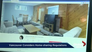 SFU student compiles data on home sharing in Vancouver
