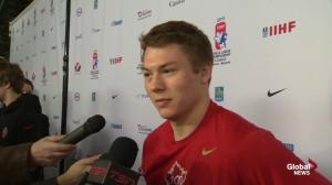 Team Canada's Curtis Lazar wants his teammates to enjoy the moment