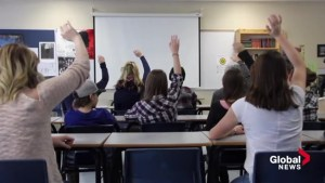 STUDENTS WORK TO RULE