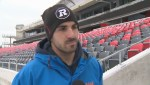 Peterborough's Brad Sinopoli talks possibility of being named top Canadian in the CFL