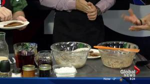 Cooking with tea in the Global Edmonton kitchen with Danika Riedel Pt. 3