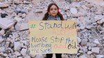 Syrian girl whose Twitter account went viral tours war-torn Aleppo