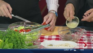 Saturday's cooking segment with Seasoned Solutions