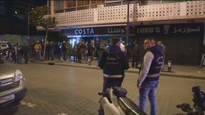 Suicide attack foiled in Beirut cafe