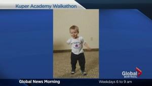 Kuper Academy walks for disabled children