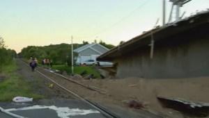 RAW: Via rail train accident