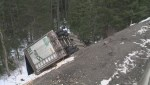 Truck driver trapped inside wreckage for two days dies