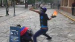 Clashes break out in Venezuela as strike intensifies