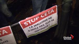 No agreement from Belgium as CETA deadline approaches