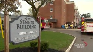 Brampton senior dies in apartment fire