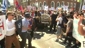 Clashes mangle out forward of jingoist convene in Charlottesville