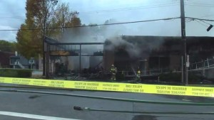 Fire breaks out in Port Coquitlam