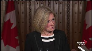 Alberta premier says Kinder Morgan pipeline could bring in 15,000 jobs